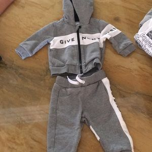 Givenchy two piece jogging suit